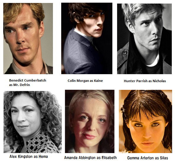 Chosen cast 6-08-2014 (Alex Kingston version)
