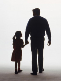 father-daughter-silhouette