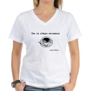 tea_is_always_necessary_tshirt