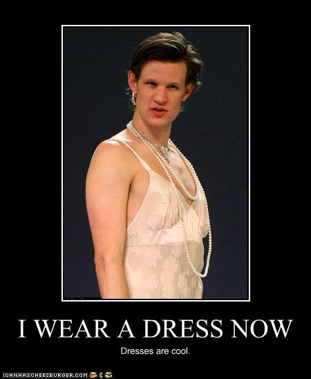 mattsmith_dresses-are-cool